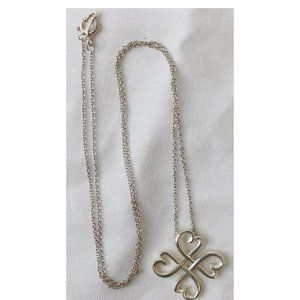 TIFFANY & CO Loving Four Heart Clover Pendant